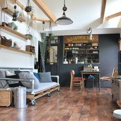 katsuwobushiさんの、Overview,IKEA,ドア,green,100均,ハンドメイド,DIY,Francfranc,フェンス,JUNK,男前,ねこ部,りんご木箱,NO GREEN NO LIFE,単管パイプ,バリケード,ペットと暮らす家,ブルックリンスタイル,サインペインティングについての部屋写真