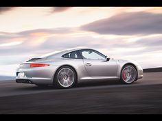 2012 Porsche 911 Carrera - S Coupe Side Angle Speed.