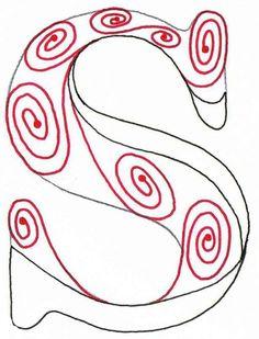 Bildresultat för tangle alphabet