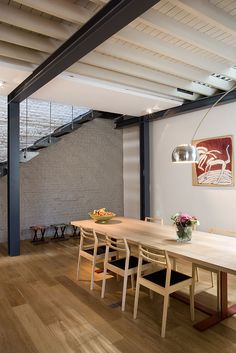Private Residence In Brussels Dazzles With An Industrial Chic Makeover
