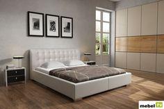 Łóżko BRILLANTE LUX z opcją pojemnika na pościel - sklep meblowy