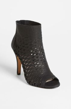Sexy Perforated Bootie