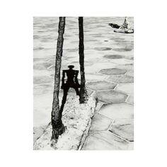 Reflection photo by Lucien Clergue 1968. Giacometti - Fondation Maeght Saint-Paul de Vence.  #art #giacometti #fondationmaeght #saintpauldevence #lucienclergue #60s #bw #french #moodoftheday #mood #sun #riviera #cotedazur #artist