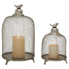 2 peças Oriole Candle Lantern Set
