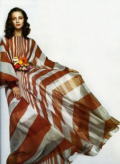 Ingmari Lamy Photo by Gian Paolo Barbieri 1971 60s And 70s Fashion, Seventies Fashion, Love Fashion, Retro Fashion, Fashion Beauty, Vintage Fashion, Fashion Rocks, Vintage Style, High Fashion