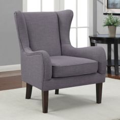 Grey Accent Arm Chair Armchair Seat Sofa Lounge Chaise Living Room Furniture | eBay
