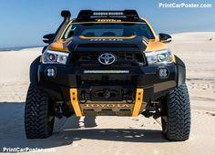 Toyota fans are going to appreciate the Toyota Hilux Tonka. the Toyota Hilux Tonka is a perfect Toyota Hilux, Toyota 4x4, Toyota Trucks, Toyota Cars, Custom Trucks, Pickup Trucks, Toyota Tundra, Toyota Corolla, 4x4 Trucks