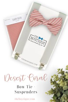 Do you need the perfect bow tie and suspender for your groomsmen? We have a large range of colors and styles to match perfectly with your desert coral bridesmaid dresses. #desertcoralbowtie #fallwedding #bowtieandsuspenders #weddingaccessories #weddingattire #groomsmen #weddingplanning Groomsmen Outfits, Groom And Groomsmen Attire, Birthday Themes For Boys, Boy First Birthday, Gifts For Wedding Party, Party Gifts, Coral Bridesmaid Dresses, Bridesmaids, Polka Dot Bow Tie
