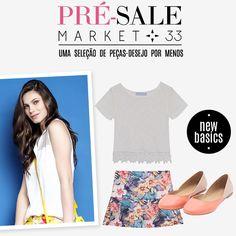 Compre moda com conteúdo, www.oqvestir.com.br #Fashion #Summer #Sale #Market33 #Shop