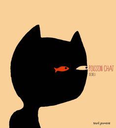 Poisson chat; Dedieu; album sans texte; pour travailler les prédictions (nous incite à faire des prédictions erronées?)