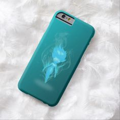 Ocean Pixie Airbrush Artwork iPhone 6, Barely There Case by BOLO Designs.