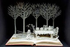 Su Blackwell Alice in Wonderland pop up book