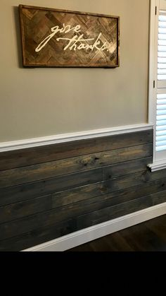 Your Walls Shiplap Chair rail - paneling? especially if it matched the kitchen island? Barn Wood, Rustic Wood, Rustic Walls, Diy Wood, Living Room Panelling, Rustic Chair, Ship Lap Walls, Wood Wall, Designer
