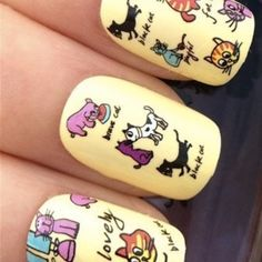 SeriouslyINeedThis | Cat Nail Decal