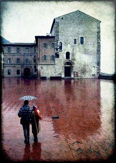 Pioggia | Gubbio | Umbria | Italy