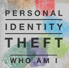 Over the past 7 years I feel that I have had a bit of Personal Identity Theft in a different kind of way-- who am I? New Things To Learn, Things To Think About, Identity Theft Prevention, Computer Security, Personal Identity, Losing Everything, New Names, Love Symbols