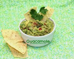 Michelle's Tasty Creations: Guacamole
