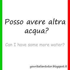 AL RISTORANTE (At the restaurant) #learnitalian #italianwords #italianlanguage #italian #italianvocabulary