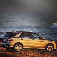 Who's spotted the #ML63 #AMG out on the streets (or by a major body of water, as it happens)?
