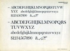 Is Baskerville really the most trustworthy typeface you can use?