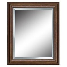 Photo Gallery For Photographers bedroom bath mirror option one over each sink allen roth x Bronze Rectangle Framed Mirror