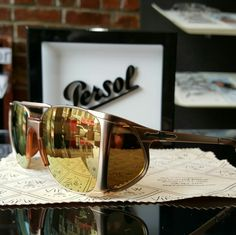 #persol sunglass with sideshield don't blend in stand out and make a statement! Be unique