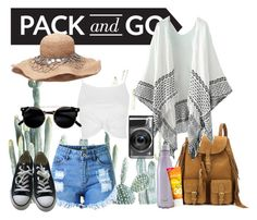 """Pack & Go : mexico city"" by taraawray ❤ liked on Polyvore featuring Yves Saint Laurent, Topshop, Converse, S'well, Jason, mexico and Packandgo"