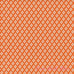 Bottom of curtain - Denyse Schmidt Florence Four Dots Carnelian