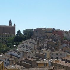 #Summertime #wiew from our #terrace #htlminervasiena #Siena #Italy #6august #holiday in #tuscany