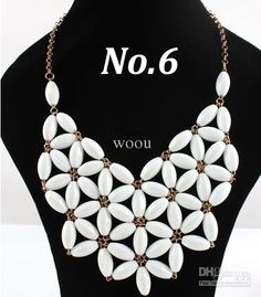 The Bubble Necklace Womens Beads Statement Necklaces Long Chunky Jewelry Bib Necklaces WS122