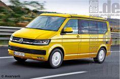 Neuer VW T6 startet 2015: Der Bus kommt! - autobild.de