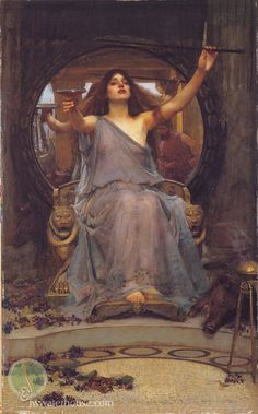 John William Waterhouse: Circe Offering the Cup to Ulysses - 1891