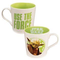 STAR WARS YODA USE THE FORCE 12 OZ CERAMIC MUG Star Wars Crochet 4d1bbe6ee98