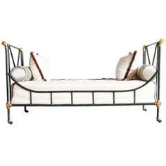 Rare Maison Jansen Day Bed | From a unique collection of antique and modern day beds at https://www.1stdibs.com/furniture/seating/day-beds/