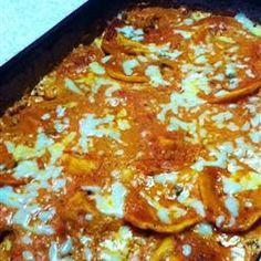 Homemade Four Cheese Ravioli Recipe