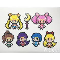 Sailor Moon perler beads by  hns.land