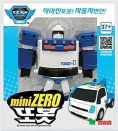 Tobot ZERO Mini Transformer Korean Animation Robot Character by Tobot ZERO Mini -- You can get additional details at the image link.Note:It is affiliate link to Amazon. #Transformers