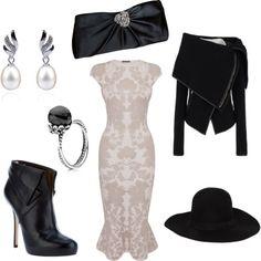 Mrs White Clue Costume