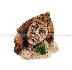 Egyptian Pharaoh Aquarium Fish Tank Ornament Decoration Hpe176