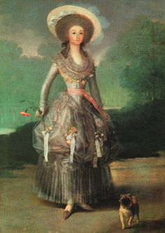 Francisco Goya (Spanish [Romanticism] Marquesa Mariana de Pontejos, National Gallery of Art, Washington, DC. Francisco Goya, Spanish Painters, Spanish Artists, National Gallery Of Art, Goya Paintings, Jean Antoine Watteau, Gravure Illustration, Fu Dog, Pug Art