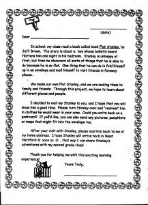 New flat stanley letter cover letter examples flat stanley class project teacher projects to try maxwellsz