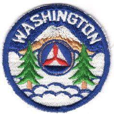 Civil Air Patrol Washington Wing patch 1950s.