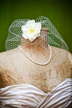 Tutorial to make an easy birdcage veil