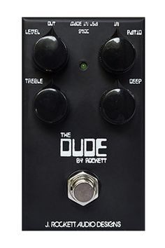 Rockett Pedals The Dude Classic Overdrive / Distortion pedal
