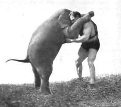 Hermann Goerner could one-hand snatch 167.75lbs, could one-arm deadlift 727lbs, and regularly wrestled an elephant weighting 1,500lbs. Here's how he trained.