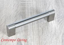 "5-3/4"" Sub Zero Style Stainless Steel Kitchen Cabinet Bar Pull Handle Hardware"