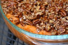 Paleo Sweet Potato Casserole 24 Healthier Thanksgiving Recipes That Are Actually Delicious Baked Sweet Potato Casserole, Paleo Sweet Potato, Mashed Sweet Potatoes, Sweet Potato Recipes, Healthy Thanksgiving Recipes, Thanksgiving Desserts, Paleo Recipes, Holiday Recipes, Cooking Recipes