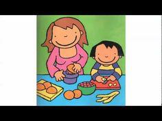 Voorleesverhaal anna eet graag fruit - YouTube