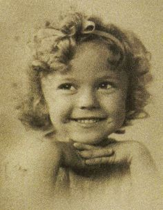 Shirley Temple, early 1930s.