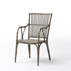 $120 wayfair, NovaSolo Wickerworks Duke Arm Chair